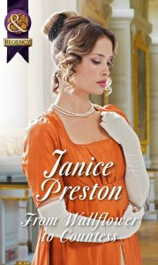 UK cover From Wallflower to Countess