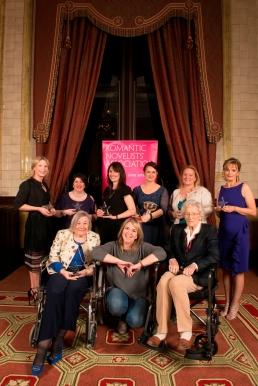 RoNA16 winners, Fern Britton, Anita Burgh, Claire Lorrimer